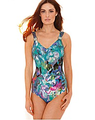 Gottex V-Neck Swimsuit