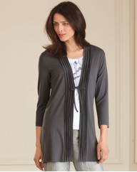 Gerry Weber Jersey Long Line Cardigan