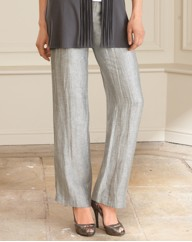 Gerry Weber Crinkle Linen Mix Trousers