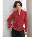 Gelco Georgette Spot Blouse