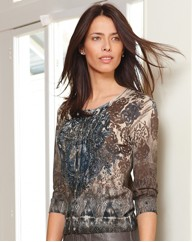 Gerry Weber Knitted Print Cardigan