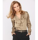 Gerry Weber Satin Frill Front Blouse