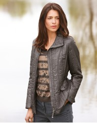 Gerry Weber Sheen Quilted Short Coat