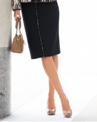 Basler Ponte Roma Pencil Skirt