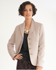 Wool Cashmere Mix Jacket