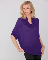 Pomodoro Knitted Long Line Tunic