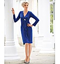 Gina Bacconi Mock Wrap Dress