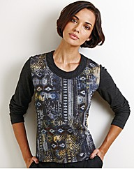 Gerry Weber Printed Jersey Top