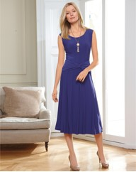 Chesca Silky Jersey Dress