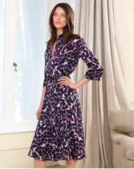 Gray & Osbourn Printed Shirt Dress