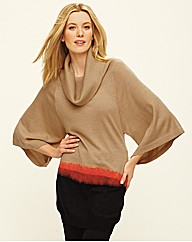 Ladies Beige Jumper - Grey & Osbourn