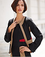 Gelco Ponte Roma Colourblock Jacket