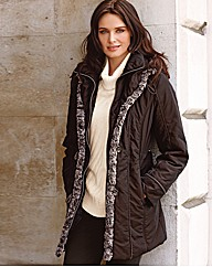Gelco Two Tone Padded Coat