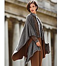 Betty Barclay Boiled Wool Cape