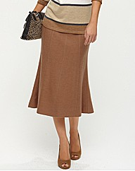 Olsen Boiled Wool Skirt