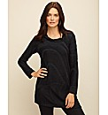 Sulu Textured Jersey Tunic
