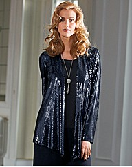 Gina Bacconi Sequin Jacket