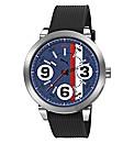 Puma Gents 369 Blue Dial Strap Watch
