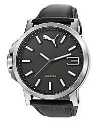 Puma Gents Ultrasize Black Dial Watch