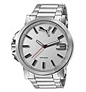 Puma Gents Ultrasize Silver Dial Watch