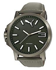 Puma Gents Ultrasize Grey Dial Watch