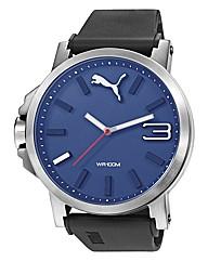 Puma Ultrasize Blue Dial Strap Watch