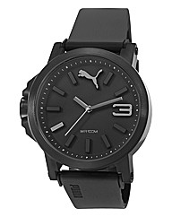 Puma Black Dial with Grey Detail Watch