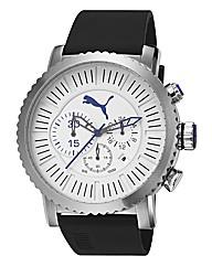Puma Chronograph Black Strap Watch