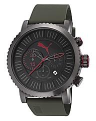 Puma Chronograph Green Strap Watch