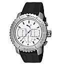 Puma Chronograph White Dial Strap Watch