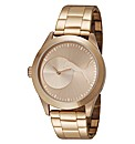Puma Gents Rose Tone Bracelet Watch