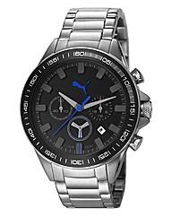 Puma Gents Black Dial Watch