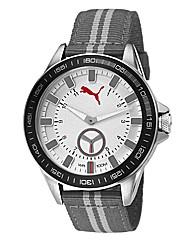 Puma Gents Grey Dial Strap Watch