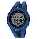 Puma Gents Blue Silicon Strap Watch