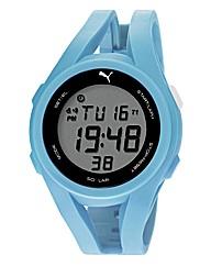 Puma Gent Light Blue Silicon Strap Watch