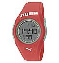 Puma Ladies Coral Silicon Strap Watch