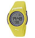 Puma Yellow Silicon Strap Watch