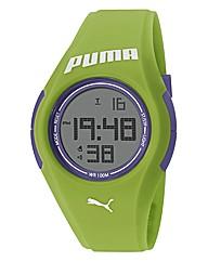 Puma Green Silicon Strap Watch
