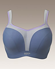 Panache Grey Underwired Sports Bra