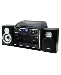 Steepletone 5 in 1 Music System - Black