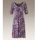 Fusions By East Print Dress 43in