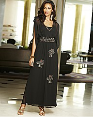 Joanna Hope Petite Kaftan Maxi Dress