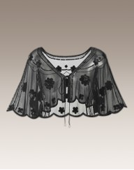 Joanna Hope Embellished Cape