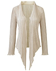 Joanna Hope Crystal Pleat Unlined Jacket