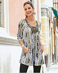 Changes By Together Print Tunic