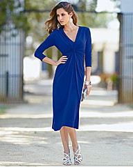 Together Twist Front Dress