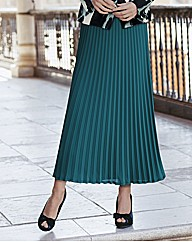 Together Pleated Maxi Skirt