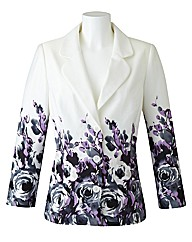 Changes By Together Petite Print Jacket