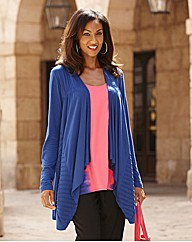 Joanna Hope Waterfall Jersey Cardigan