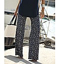 Joanna Hope Print Palazzo Trousers